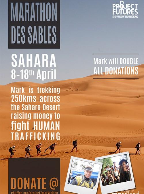 Des Sables Fundraising Campaign