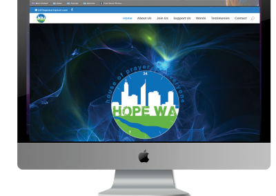 HopeWA website