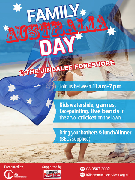 Aus Day Flyer
