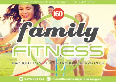 Family Fitness Flyer