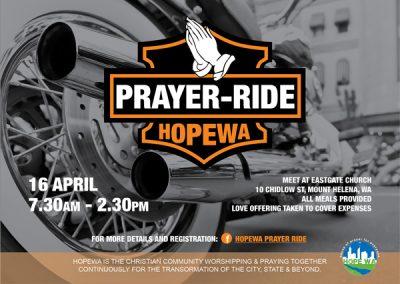 Prayer Bike Ride