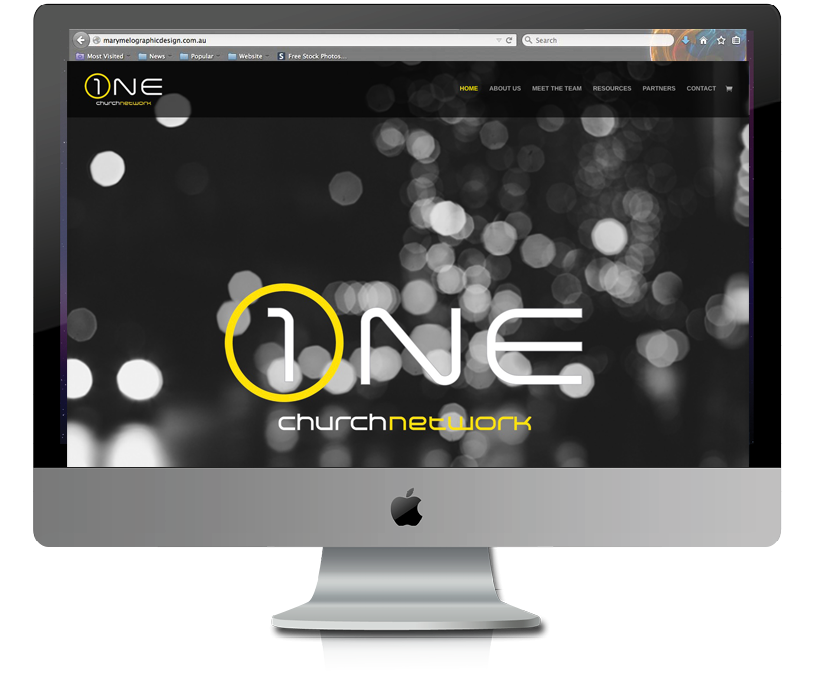 One Church Network website