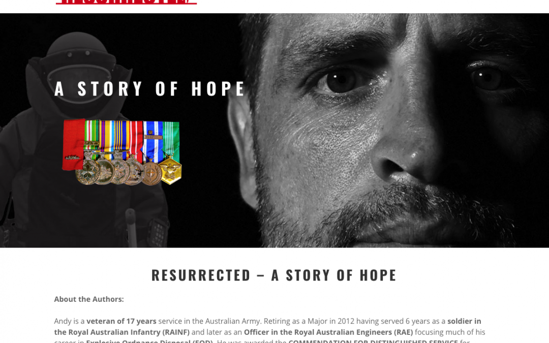 PTSD Resurrected website