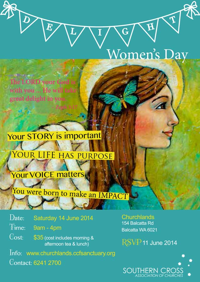 Delight Women's Day flyers