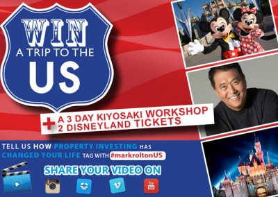 Win US Trip email banner
