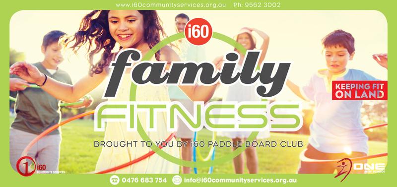 Family Fitness Flyer